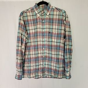 Vintage Brooks Brothers 346 flannel button down